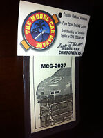 Model Car Garage 2027 1/24-1/25 1995 Monte Carlo Stock Car Photo Etch Duct Grill