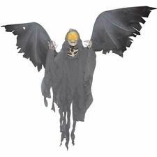 Animated Hanging Grim Reaper Halloween Decoration - Halloween Prop - 38 in - NEW