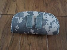 SUN GLASSES CAMERA CASE STRUCTURED NYLON TACTICAL ACU DIGITAL CAMOUFLAGE