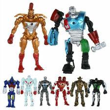 8pcs/Set Film Real Steel Zeus Atom Midas Noisey Action Figuren Roboter Spielzeug