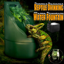 New listing Reptile Drinking Water Fountain Humidifiers Chameleon Lizard Dispenser