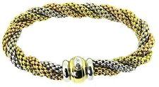 FOPE tre colori-Braccialetto in oro Oro Massiccio 18CT - 42.8g!