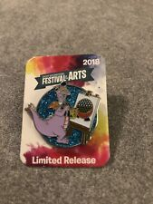 Disney 2018 Epcot Festival Of The Arts Figment Scavenger Pin Limited Release