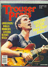 Talking Heads - David Byrne Trouser Press Magazine From November 1979
