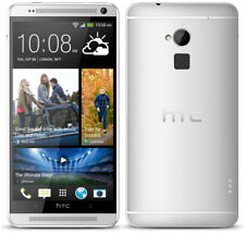 HTC One Max - Dual SIM - 16 GB - Silver - Smartphone