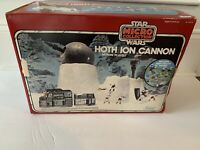 STAR WARS HOTH ION CANNON BOX ONLY ESB MICRO VINTAGE KENNER 1982 DIECAST LUKE R2
