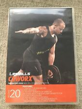 Rare Authentic Brand New Les Mills Cxworx 20/Includes Dvd Cd and Notes