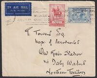 1935 Airmail Cover to Inspector of Aerodromes. Ord River Station