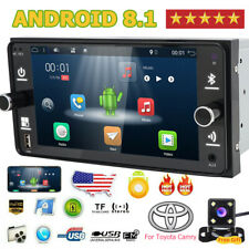 "7"" Android 4Core Car Radio GPS Wifi DAB+ Stereo For Toyota RAV4 Camry Vios Vitz"