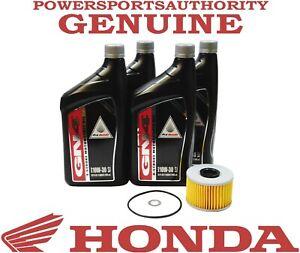 2020-2021 Honda Foreman Rubicon TRX520 FA OEM Oil Change Kit H129