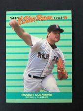 1988 Fleer Baseball Card - Roger Clemens #  4 -  NM-MT - All Star Team