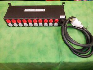Geist 2XPR200-103D20TL6 2U Rack Mount PDU 20 Outlets 10' Cord L5-30P 30Amp   #9
