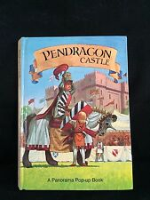 Vtg 1982 Pendragon Castle A Panorama Pop-Up Book Peter S Seymour EC Free Ship