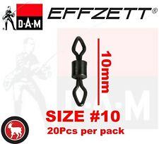 L 31Kg 56384 Snaps TOP//NEU DAM Fz Effzett D-Lock Snap Matt Schwarz Gr