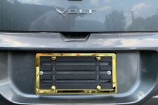 License Plate Bumper Mounting Holder Adapter Bracket + GOLD Frame for CHEVROLET