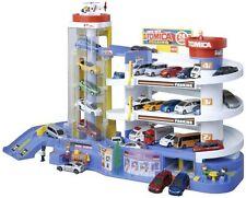 TAKARA TOMY Tomica Super Auto Tomikabiru Building Car Garage Parking F/S NEW