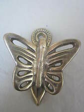 Butterfly Brass Clip with a Hole To Hang it Anywhere You need to Hold GOODIES!!