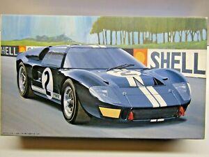 Fujimi 1:24 Scale Ford GT-40 Mk.ll 1966 Le Mans Winner Model Kit # 12101-2000