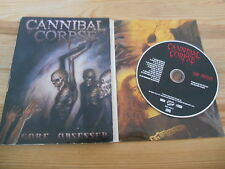 CD Metal Cannibal Corpse-Gore Obsessed Ltd Edit (12 Song) Metal Blade DVD Case