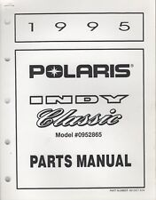 1995 POLARIS SNOWMOBILE  INDY CLASSIC PARTS MANUAL 9912907 (184)