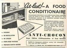 1953 Jl Caplin Homerton High Street Anti-crocon Ad
