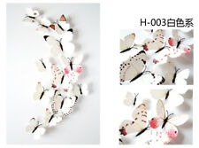 12Pcs 3D Butterfly Wall Stickers, Wall Decors, Wall Art, Wall Decorations