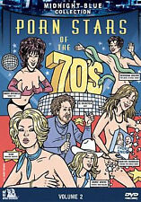MIDNIGHT BLUE 2: PORN STARS OF THE 70'S - DVD - UK Compatible  - Sealed