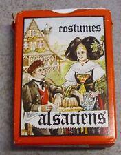 jeu de 54 cartes COSTUMES ALSACIENS *Editions Dussere*unbespieltes Blatt*oJ.
