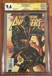 NEW AVENGERS #4 RONIN VARIANT COVER SS CGC 9.6 SIGNED X2 CHEUNG & FINCH HAWKEYE