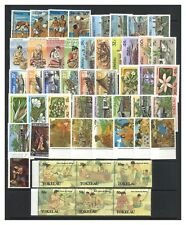 Tokelau 50 Different Stamps All Mint Unhinged MUH Complete Sets