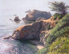 """Lifting Fog"" June Carey Limited Edition Fine Art Giclee Canvas"