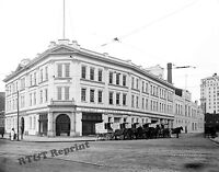 Photograph Vintage Detroit Creamery Company Building Velvet Ice Cream 1910  8x10