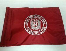 Milburn Golf & Country Club in Kansas pin flag William B. Langford 1917 pga