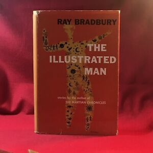 Ray Bradbury - The Illustrated Man - Signed with Illustrated Man drawing