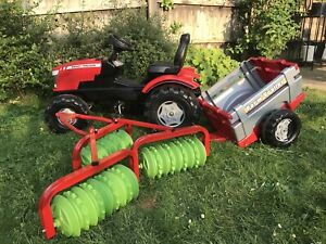 childs ride on tractor, Trailer and Machinery - Age 4+