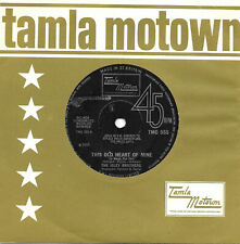 """ISLEY BROTHERS this old heart of mine TAMLA MOTOWN 7"""" 45rpm 1965 original"""