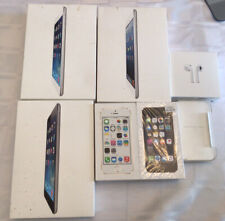 Lot Of 7 Boxes Ipad Mini Iphone 5 Iphone 5S Ipod Touch Airpods BOXES ONLY I