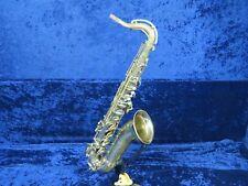 Buescher Big B Aristocrat Tenor Saxophone Ser#314056 Plays Well