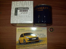 GENUINE RENAULT OIL FILTER SCENIC 3 1.5 2012 ON 152089599R OR 152085488R