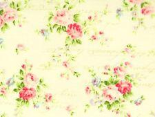 Romantik Stoffe Quilt Gate Rosenstoffe Rosen Rosenstrauß rosa pink creme 30x1,12
