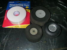 3 set of tires +1 mounting tape, sold asis used,