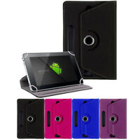 """Folio Leather Box Case Cover For Universal Android Tablet PC 10"""" 10.1"""" w/ Styus"""