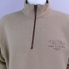 Vintage Lipton Tennis Championship Lee Heavyweight Pullover US Made Sz Large Rad