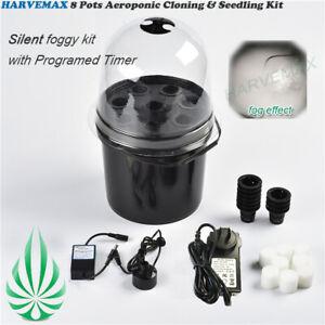 High Production Hydroponics Seedling & Cloning System Aeroponic Propagation Kit