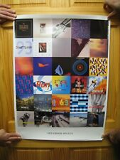 New Order Poster Album Singles Joy Division