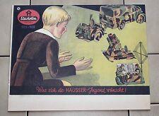 Elastolin Hausser 1935/36 CATALOGO GIOCATTOLI catalogo