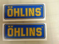 Ohlins Suspension Racing Decal Sticker Fork Shock Steering Damper Sportbike 16mm