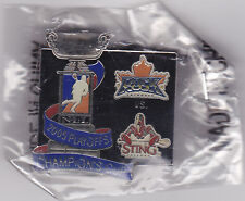 NLL Champion's Cup 2005 STING vs. ROCK Lapel Pin