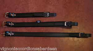 Accordion Extension Shoulder Strap  parts 3 Size 23/37/45CM Italcinte Leather