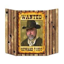 Wild West quería Poster Foto Prop - 94 Cm-Salvaje Oeste Cowboy Fiesta Decoración